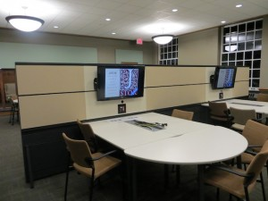 Collaboration Stations in the Lower Commons