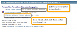 Find Journals result - click to view full-size image.