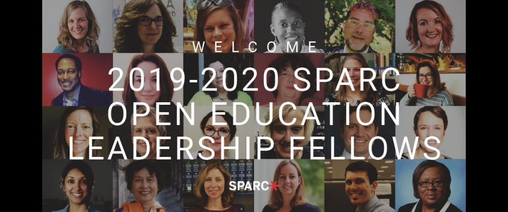 2019-2020 SPARC OPEN EDUCATION LEADERSHIP FELLOWS