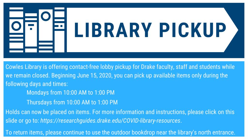 Library Pickup
